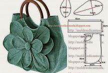 Kabelky, tašky, taštičky, pouzdra.... / Bags, bags, bags,  ... / šité kabely, tašky, taštičky,  pouzdra....
