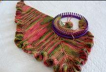 Pletení na kruhu / Knitting on the ring
