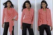 střihy blůzky,halenky apod.../Patterns blouses, blouses, etc.