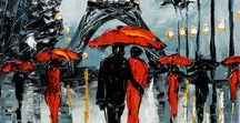 Leonid Afremov / Pintura contemporanea rusa.