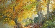 Rex Preston / Pintor británico contemporaneo.