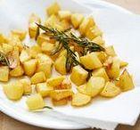 Kartoffelglück / Kartoffeln sind wunderbar! Egal ob in einem köstlichen Gratin, als leckerer Salat oder wärmende Suppe. Und nicht zu vergessen: als Pommes. Wir lieben die tollen Knollen und ihre große Vielfalt!