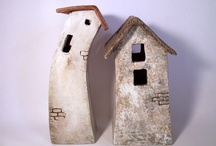 Small items of cardboard or papier mache