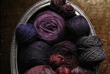 yarn love /  my handspun and hand dyed yarns