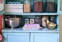Grandma's Kitchen Cabinet