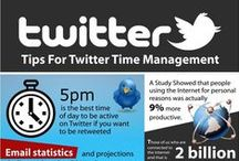 Infographics Twitter / Twitter related infographics