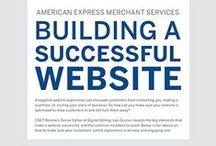Infographics Build + Design Websites / Websitebuilding related infographics