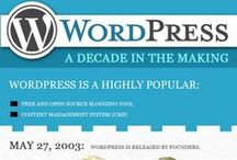 Infographics Wordpress / Infographics related to the Wordpress cms