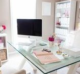 HOME OFFICE / Home office inspiration, small office, office nook, work from home, office