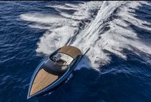 AM37 / The 37-foot Aston Martin AM37 powerboat made its world debut at the Monaco Yacht Show, marking the luxury British brand's entry into the nautical world. The new day-cruiser is offered in two versions with the AM37S expected to reach speeds of 50 knots.