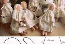 textilből varrva