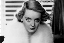 Bette Davis / Born Ruth Elizabeth Davis. Known as the First Lady of the American Screen. / by Brittany Kornkven