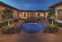 Outdoor Lighting / System Pavers offers fully integrated outdoor lighting systems that help showcase the beauty of your home and provide the secondary benefits of safety features while extending the hours of use of your outdoor living space.
