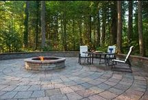 SP Fire Pits / Every System Pavers Fire Pits are completely, 'Designed Around You'. With a wide variety of sizes, styles, and pavers to choose from- We know you'll find or create a fire pit that you love at System Pavers