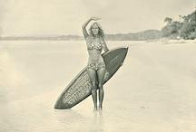 Vintage Surf/Pin Up Girls
