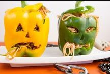 Halloween fun / These spooky pasta meals are great for Halloween parties for adults and kids alike!