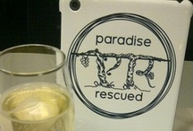 Brand Paradise Rescued / A selection of our beautiful Paradise Rescued brand merchandise.