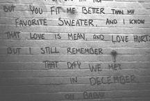 Lyrical... / by Jess Maiden