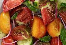 Recipes: salads and veg