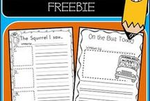 First Grade Freebies / Free digital teaching resources for first grade. Share your reading, writing, math and science freebies! If you wish to pin to this board, please contact me at teacherstoolkitblog@gmail.com. Thank you! You need to follow the board first, so the invite works!
