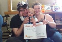 #StrongFamilies = _______ / We are celebrating strong families all of April, and we want to know... what does #StrongFamilies mean to you?   Download a PDF of the sign at http://is.gd/strongfams or make your own! Post your photos to Pinterest, Facebook, Twitter, Instagram, and Google+ with the hashtag #StrongFamilies. And tag the Children's Trust if you can!