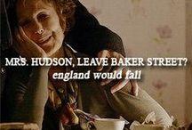 SHERLOCK/MRS HUDSON / by Home Maid Inc