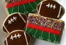 Great football recipes! / Are you ready for some football?
