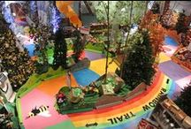 """CANDY LAND has gone WILD! / Northeast Ohio's """"wildest"""" holiday tradition is back! Candy Land has gone WILD! is an indoor, life-sized game board; set up like the iconic board game CANDY LAND, but with a """"natural twist."""" As visitors draw a card, they become the game piece and move along the game board from space to space. See website for dates and times."""