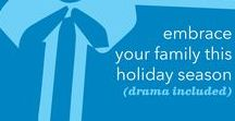Ease Holiday Stress / The holiday season can add stress to any family. Here are some important tips to help ease holiday stress and promote a more enjoyable time of year.