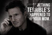 """Taken 3 / Liam Neeson returns as ex-government operative Bryan Mills, whose life is shattered when he's falsely accused of his ex-wife's brutal murder.Mills must use his """"particular set of skills"""" to track down the real killers, exact his unique brand of justice, and protect the only thing that matters to him now- his daughter."""