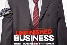 Unfinished Business / A hard-working small business owner (Vince Vaughn) and his two associates (Tom Wilkinson, Dave Franco) travel to Europe to close the most important deal of their lives. But what began as a routine business trip goes off the rails in every imaginable -and unimaginable- way, including unplanned stops at a massive sex fetish event and a global economic summit.