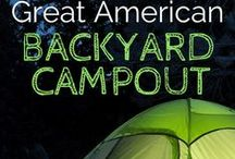 Backyard Camping / It is Great Outdoors Month and it is a terrific way to boost awareness and to encourage healthy outdoor activity, from hiking to boating, fishing, and camping. Take a look at some backyard camping ideas.   http://systempavers.com/blog/392/june-is-great-outdoors-month-get-outside