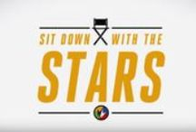 Sit Down With The Stars / Get behind the movie screen with our exclusive Hollywood sit downs. We're giving you access to the hottest stars from the biggest movies week after week. / by Regal Cinemas