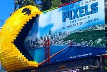 Pixels / When intergalactic aliens misinterpret video-feeds of classic arcade games as a declaration of war against them, they attack the Earth, using the games as models for their various assaults. Now it's up to a quirky team of old-school arcaders to defeat the aliens and save the planet. / by Regal Cinemas