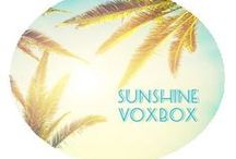 Influenster Sunshine VoxBox! / by Tesla Russell