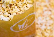 We <3 Popcorn! / Movies = Popcorn. Period.