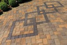 Pavers and Paver Patterns / Pavers are a great long term investment for all areas of your home. They're durable, customizable, provide a non-slick surface, and so much more. Here we display some of our System Pavers paver styles and patterns. Enjoy!