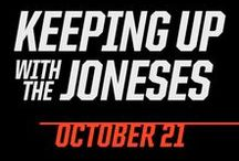 """Keeping Up with the Joneses / An ordinary suburban couple (Zach Galifianakis & Isla Fisher) finds it's not easy keeping with with the Joneses (Jon Hamm & Gal Gadot) - their impossibly gorgeous and ultra-sophisticated new neighbours - especially when they discover that Mr. and Mrs. """"Jones"""" are covert operatives. Kepping Up With the Joneses hits cinemas on October 21, 2016."""
