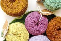 Lãs com Tons - Tingimento artesanal /  natural de Lã / Natural Dye
