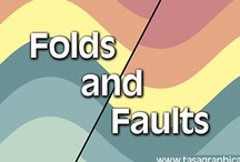Folds and Faults app by Tasa Graphic Arts, Inc. / The Folds and Faults Mobile app provides an illustrated overview of two significant topics in geology: folds and faults. Illustrations, animations, and photos by Dennis Tasa as well as annotated photos by Michael Collier and Ed Tarbuck. It's available for the iPad, iPhone, and Android.