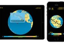 pangaea app by Tasa Graphic Arts, Inc. / The pangaea app by Tasa Graphic Arts dynamically shows the breakup of the supercontinent Pangaea and the positions of the continents over the last 200 million years. Illustrated by Dennis Tasa. Earth science geology app available for iPhone and iPad.