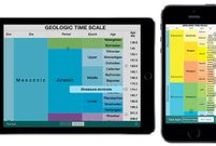 geotimescale app by Tasa Graphic Arts, Inc. / The geotimescale app by Tasa Graphic Arts is a complete educational reference for the geologic time scale of Earth's history. This is a quick and easy way to get the names and numerical dates of each of the epochs, eons, periods, eras, and ages. The Free geotimescale app has been replaced with a new universal app called geotimescale 2 that supports portrait and landscape orientations. Earth science geology app available for the iPhone and iPad.