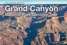 Grand Canyon National Park Geology Tour - Interactive Multi-touch book by Tasa Graphic Arts, Inc. / The Grand Canyon National Park Geology Tour is a narrated photographic tour of the South Rim of the Grand Canyon with an emphasis on the geology. View the Grand Canyon in a new light. Not only will you look down from high elevations to the river below, but you will also look through time. Earth science geology interactive travel book available on the iBookstore.  http://www.tasagraphicarts.com/grandcanyon.html