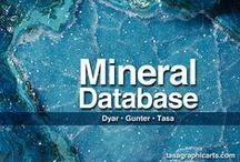 Mineral Database app / Mineral Database app for iPad, iPhone, Mac OS X 10.8 or later, and Android devices 4.1 or later.  http://www.tasagraphicarts.com/mineraldatabase.html. The Mineral Database app compiled by M. Darby Dyar and Mickey E.Gunter and illustrated by Dennis Tasa provides a comprehensive mineral data identification software tool for anyone interested in minerals including professional mineralogists, advanced mineralogy students, and casual collectors.