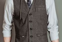 Gilets / Waistcoats / Je suis amoureux des gilets. Peut-être mon vêtement préféré.