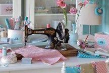 Atelier de costura / Se inspire para fazer o seu, meu blog http://www.alanasantosblogger.com/ / by Alana Santos Blogger