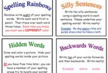 Spelling ~ Word Study ~ Words Their Way / ...spelling...teaching and learning resource...