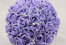 Lilac Wedding Theme / Lilac colour themed wedding flowers by Petals Polly. www.petalspollyflowers.co.uk