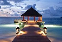 ✈ Places ~ Maldives ~ Travel / ...on my bucket list...maybe one day...