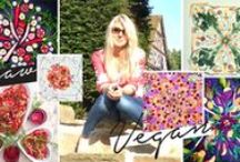 Amber Locke vegan art